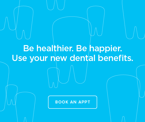 Be Heathier, Be Happier. Use your new dental benefits. - Gladstone Smiles Dentistry